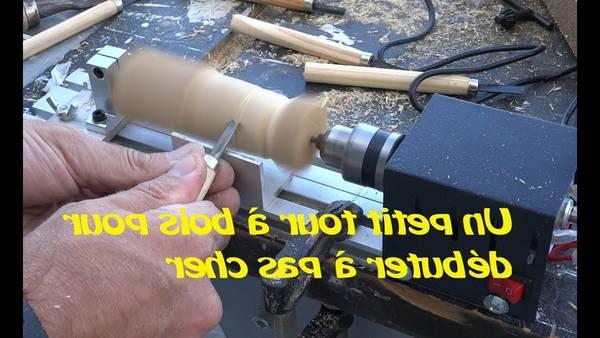 Fabriquer tour a bois