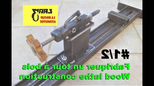 fabriquer un tour a bois pdf