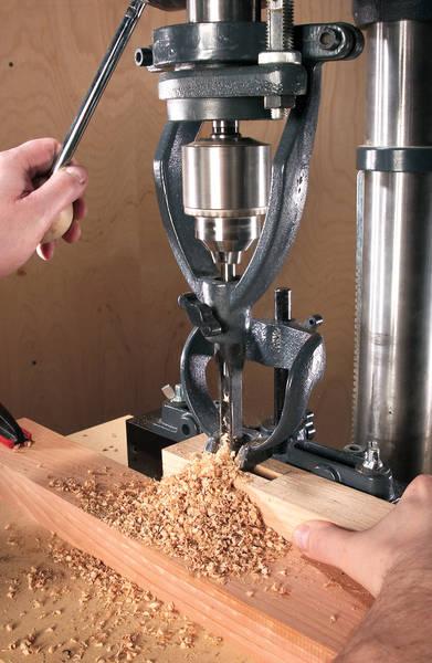 assemblage bois tenon mortaise